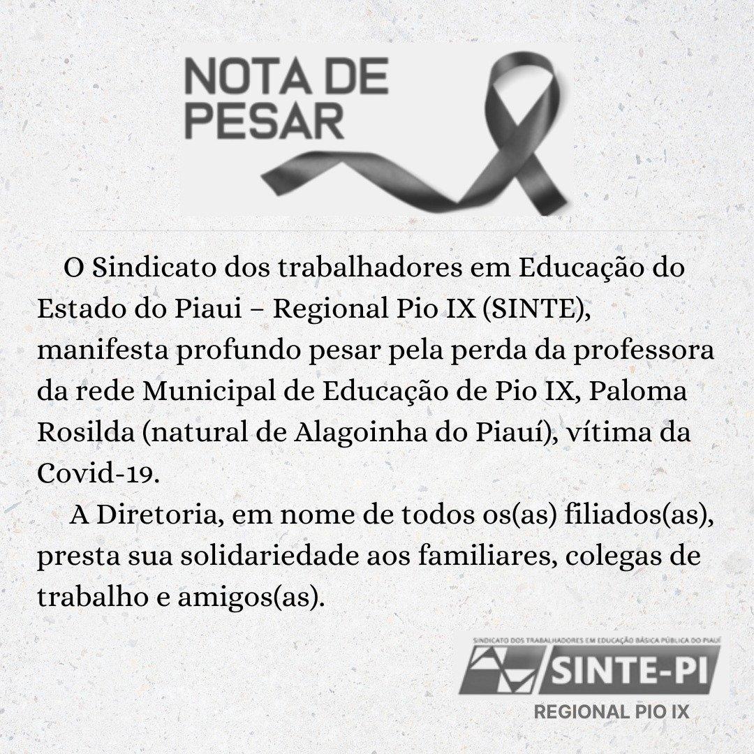 Professora de 34 anos morre vítima da Covid-19 no interior do Piauí - Imagem 2