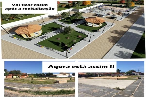 Praça do bairro Santa Luzia será revitalizada !!!! - Imagem 2