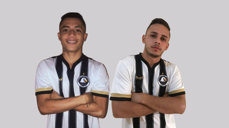 Anderson Diamante e Roger são a aposta do Corisabbá para nova temporada do Campeonato Piauiense. (Foto: Site Oficial do Corisabbá)