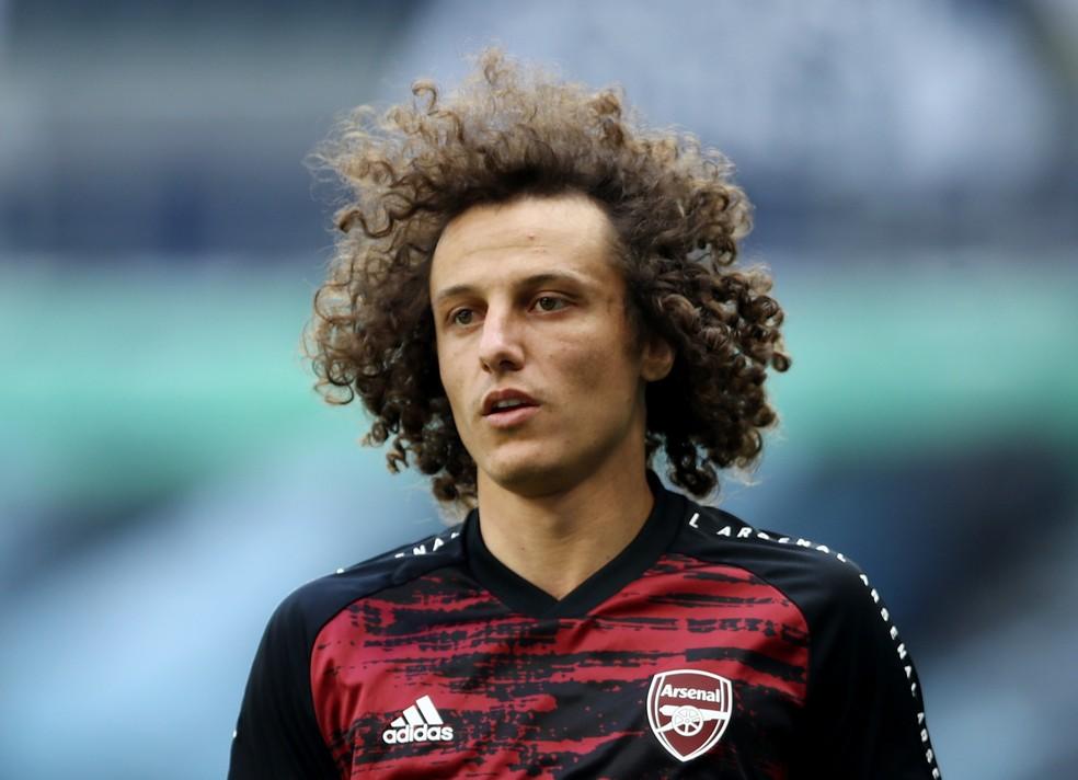 David Luiz, Ex-Arsenal  Foto: GE