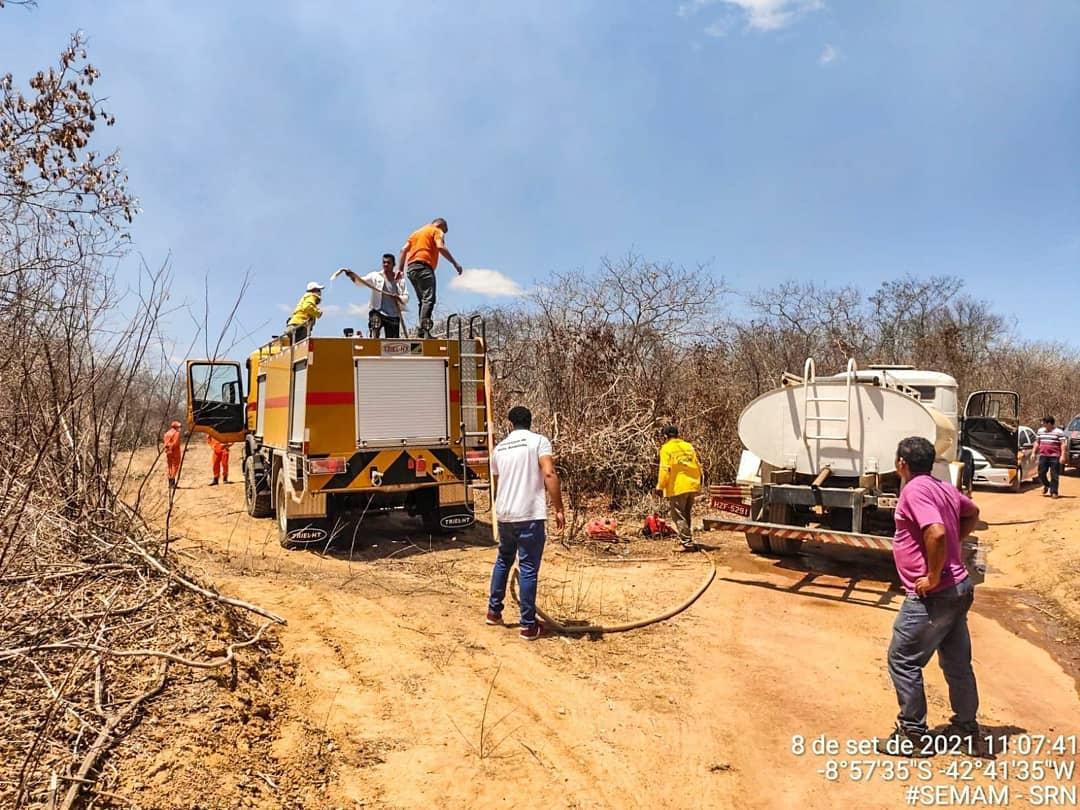 Todos os esforços estão sendo feitos para combater os incêndios -SEMAN