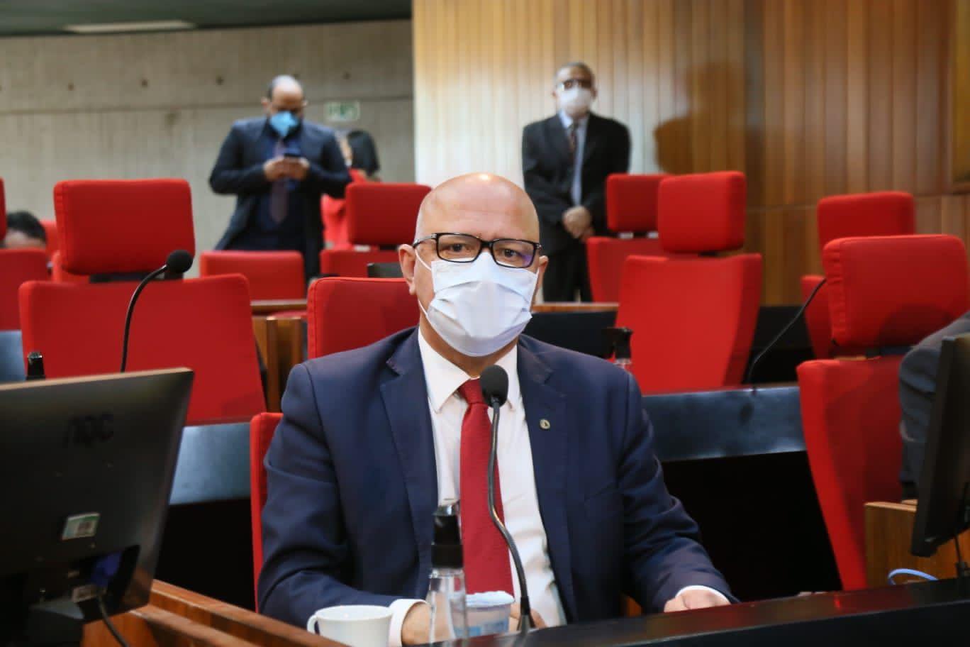 Deputado estadual Franzé Silva (PT) - Foto: Ascom