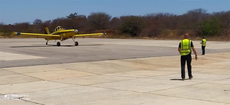 Avião enviado por Whindersson Nunes (Foto: Icmbio)