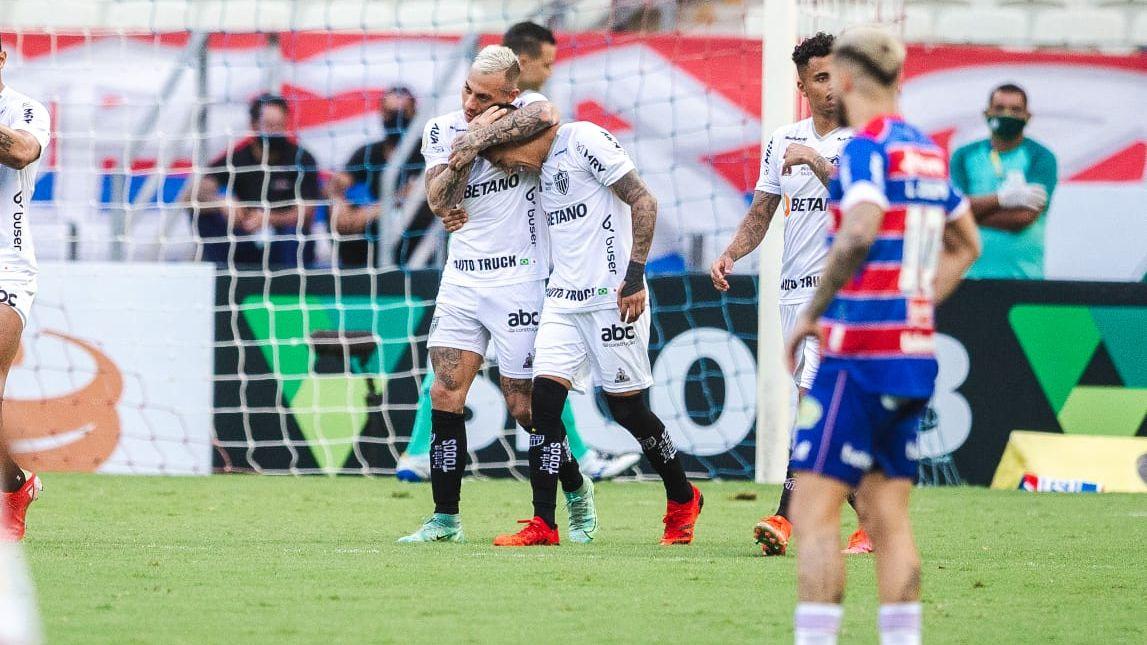 Galo fez valer sua posição de liderança no campeonato e venceu o Fortaleza - Foto: Thiago Gadelha
