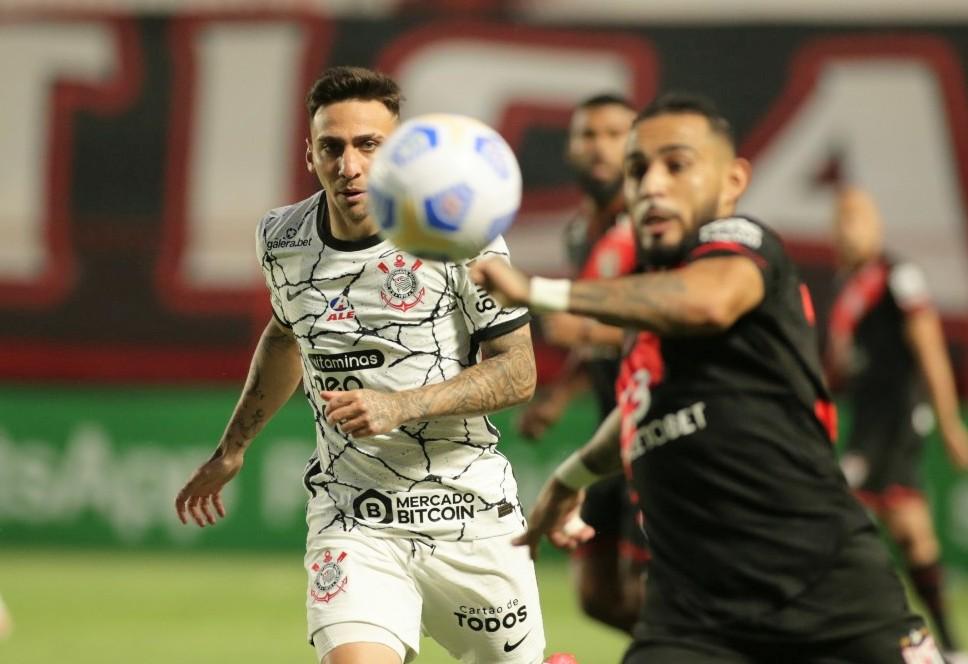 Corinthians só empatou com o Atlético-GO (Rodrigo Coca/Agênica Corinthians)