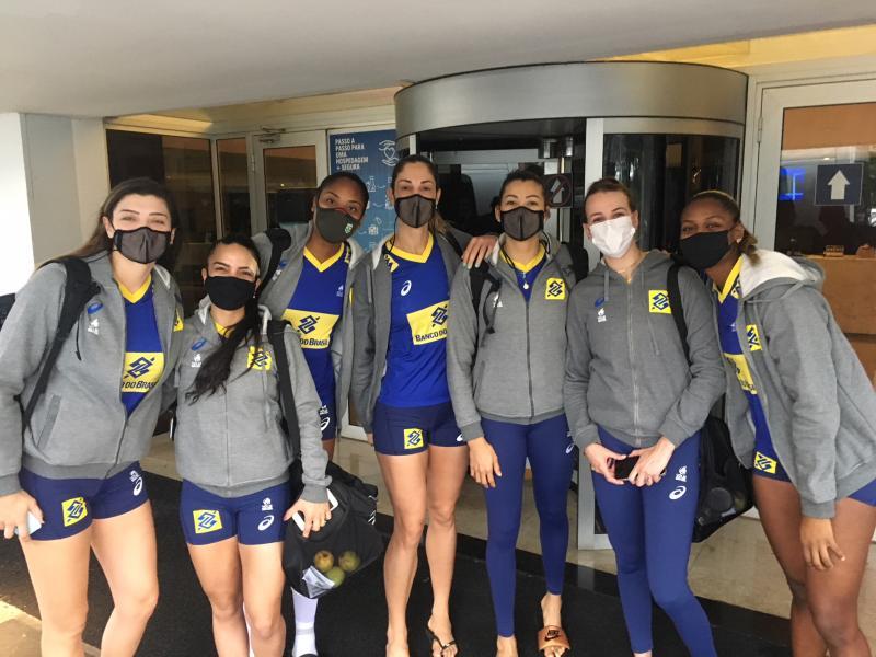 Vôlei Feminino do Brasil estreia no Sul-Americano contra o Peru - Imagem 1