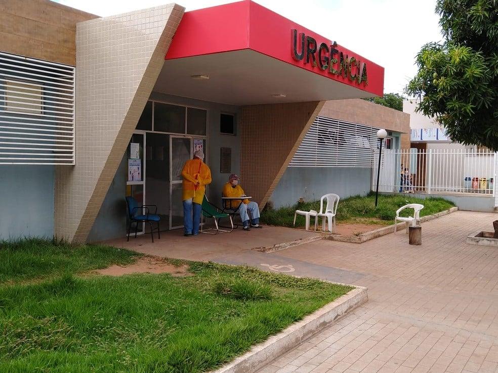 Homem morreu no Hospital Regional Justino Luz, na cidade de Picos - Foto: Reprodução