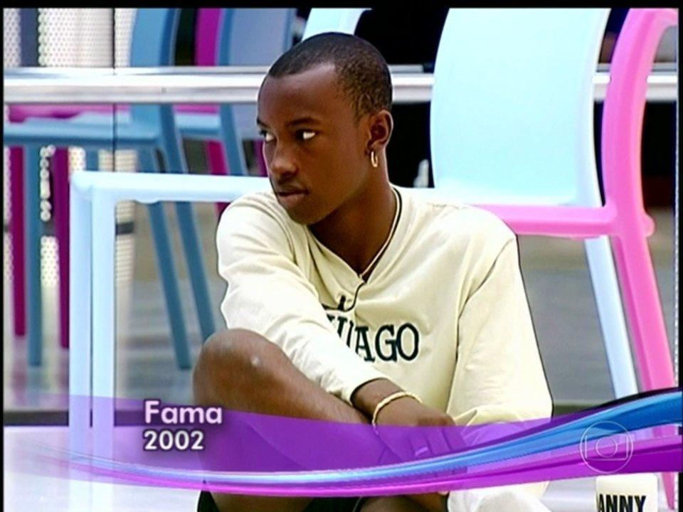 Thiaguinho participou do extinto programa Fama, na Globo, no ano de 2002
