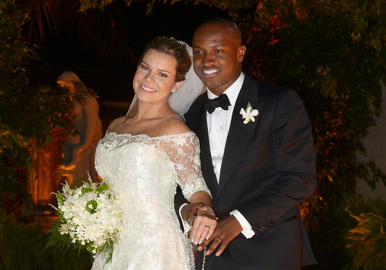 Thaiguinho foi casado com a atriz Fernanda Souza e até hoje, eles são bastante amigos