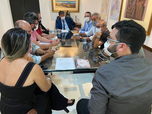 Em reunião com governador, Maninha solicita investimentos para Luís Correia - Imagem 2