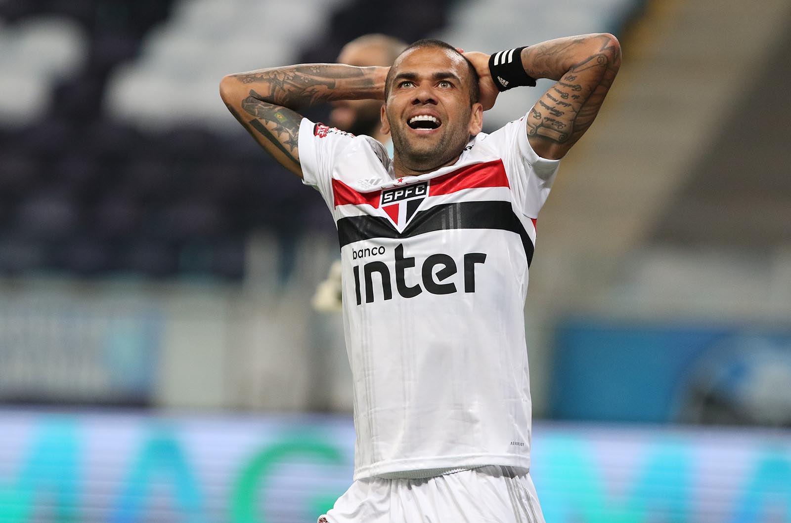 Daniel Alves já não vestirá a camisa do São Paulo- Foto: Rubens Chiri / São Paulo FC