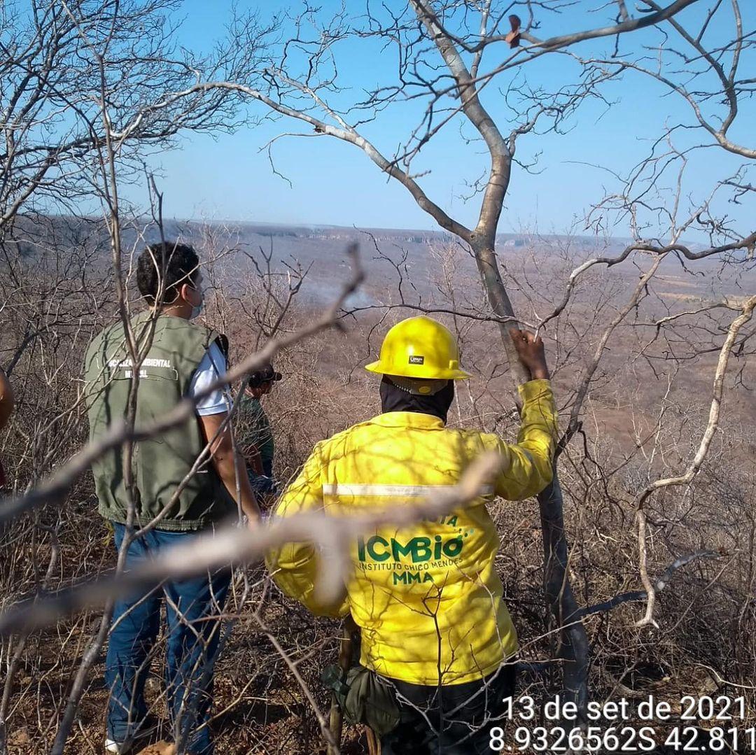 Regiões atingidas por incêndios em SRN estão sendo constatemente monitoradas (Foto: Divulgação)