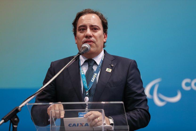 Presidente da Caixa, Pedro Guimarães, vai anunciar redução do juros habitacional ( Foto: Marcos Corrêa/PR)