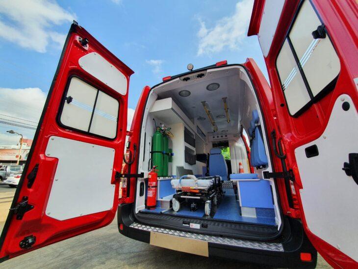 A nova ambulância auxiliará o trabalho tanto na capital quanto no interior do estado - Foto: Ascom