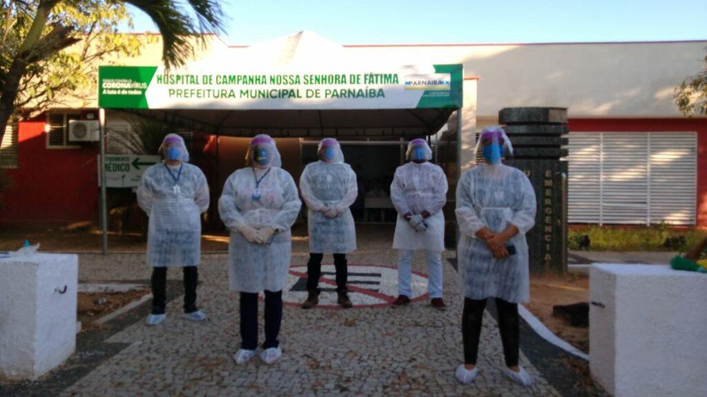 O acompanhamento se deu tanto na fase em que hospitais de campanha e alas específicas para tratamento da Covid-19 estavam em atividade, quanto durante o período de aplicação da vacina - Foto: Divulgação/TCE
