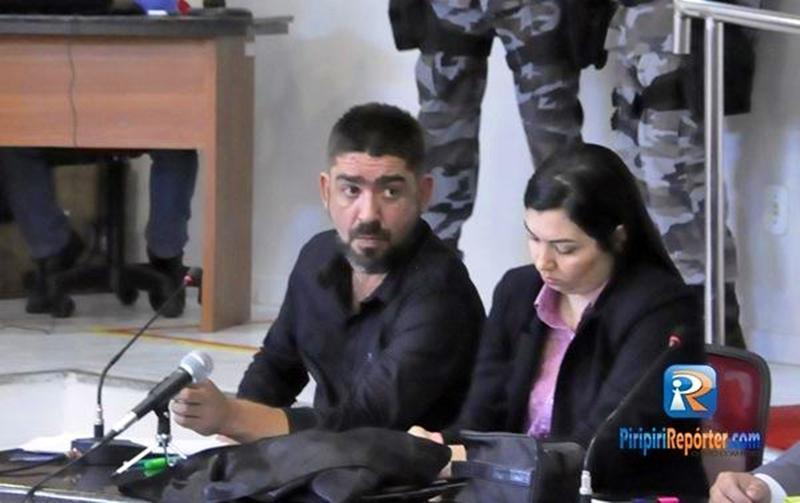 Ivan Panichi terá que cumprir seis anos em regime semiaberto - Foto: Piripiri Repórter