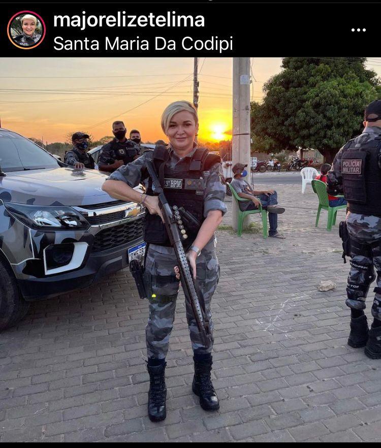 BPM comandado por mulher registra 40 dias sem homicídios na Santa Maria - Imagem 1