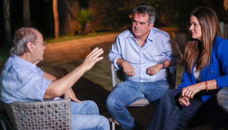 Ex-prefeito de Teresina, Silvio Mendes, integra a caravana ao lado de Ciro Nogueira e Iracema Portela