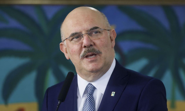 """Quero que todos estudem"", diz ministro Milton Ribeiro (Isac Nóbrega /PR)"