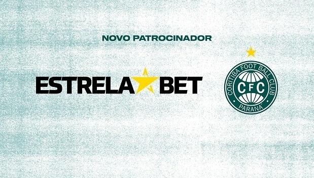Coritiba anuncia novo patrocínio com empresa de apostas esportivas