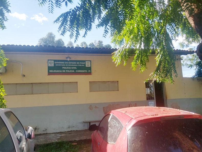 Menor foi encaminhado para a Delegacia de Polícia Cvil de Corrente (Foto: PC/ Divulgação)