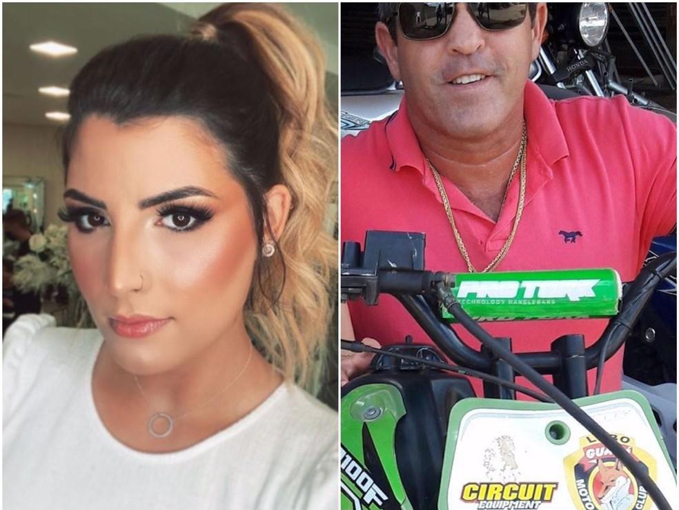Daniella e Mauro morreram em explosão de garimpo