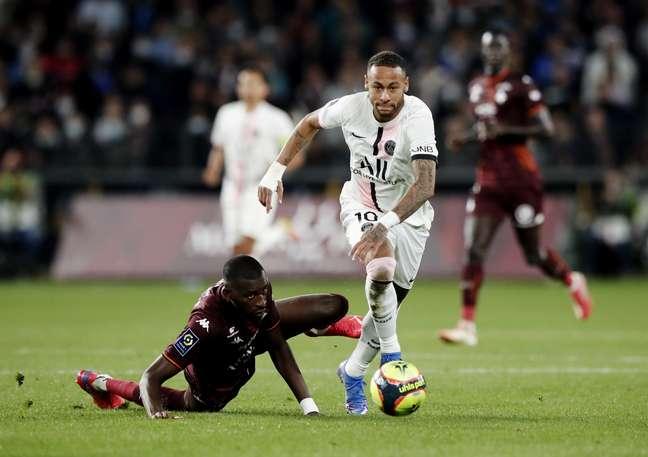 Com Neymar, PSG mantém 100% de aproveitamento. (Foto: - Benoit Tissier)