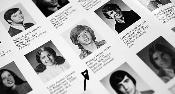 Bill Gates é que ele desistiu de continuar seus estudos de faculdade. (Foto: Reprodução)