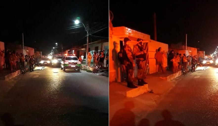 Vítima foi morta com quase 10 tiros dentro de sua residência (Foto: Divulgação(