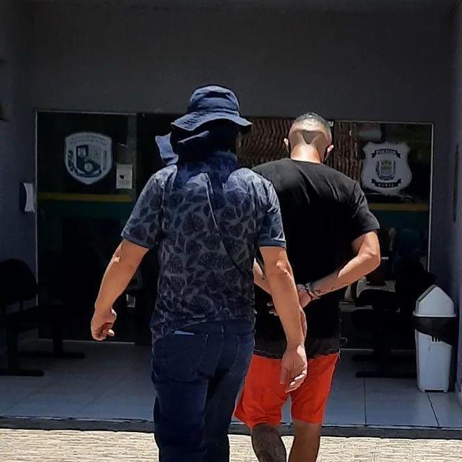 Acusado de assassinar ex-cunhado com quase 10 tiros é preso em Parnaíba (Foto: Divulgação)