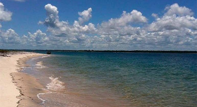 Praia de Jaguaripe seria parte dos 10% comprados pelos chineses. (Foto: Reprodução - Instagram)