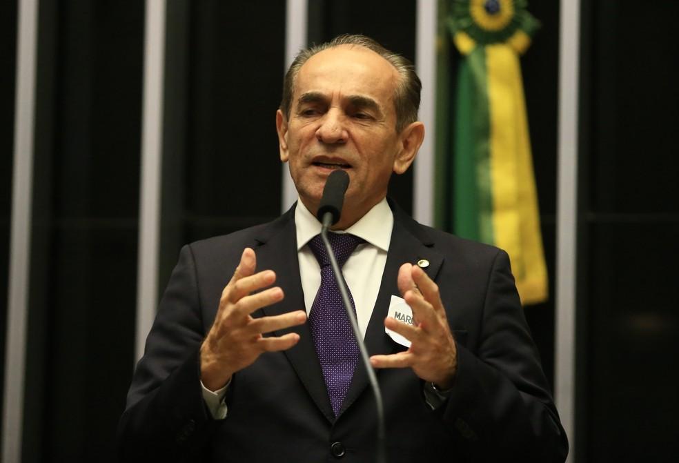 Senador e presidente do MDB no Piauí, Marcelo Castro