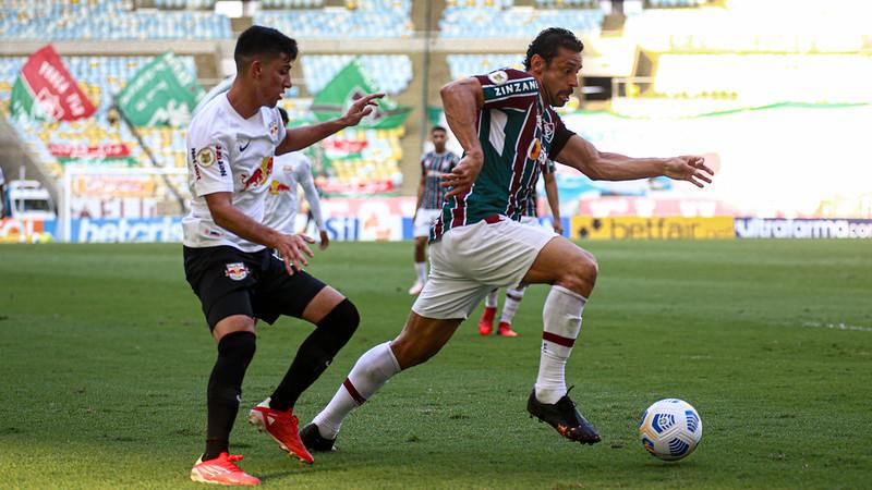 Fred marcou um dos gols do Fluminense (Lucas Merçon)