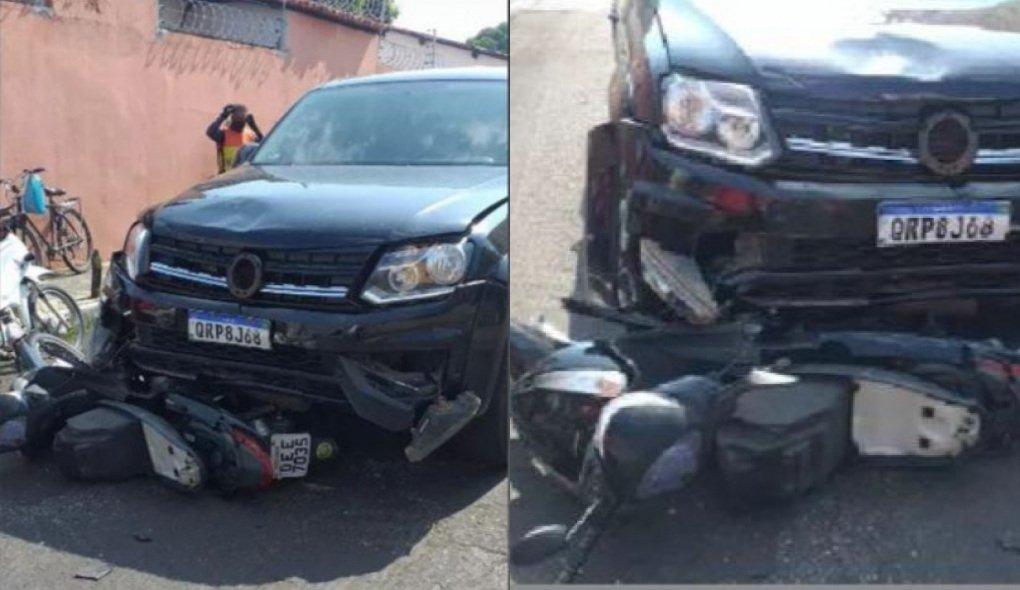 Vereadora é acusada de provocar acidente em Teresina (Foto: Redes Sociais)