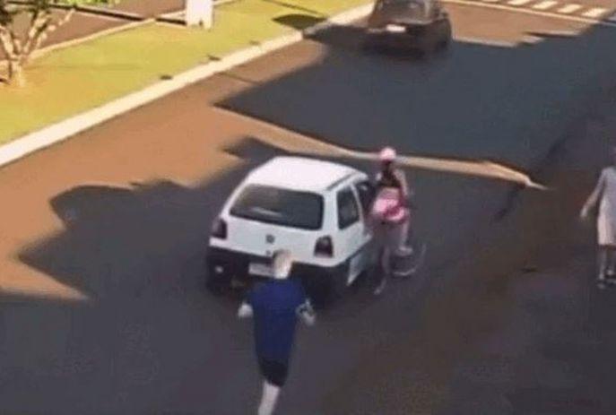 Suspeito de apalpar e derrubar ciclista é preso no Paraná