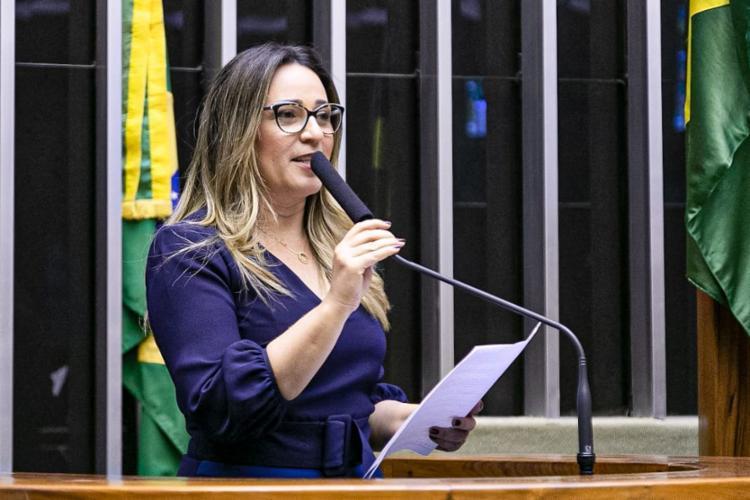 Rejane Dias é uma das coautoras da proposta do Vale Gás (Foto: Agência Câmara)