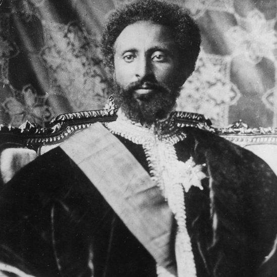 A coroação de Haile Selassie, em 1930, foi um acontecimento global - Foto: Getty Images