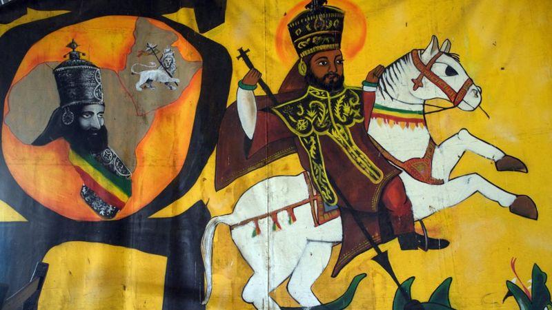 """Selassie foi uma figura controversa - era venerado, mas também criticado por """"ganância"""" - Foto: Getty Images"""