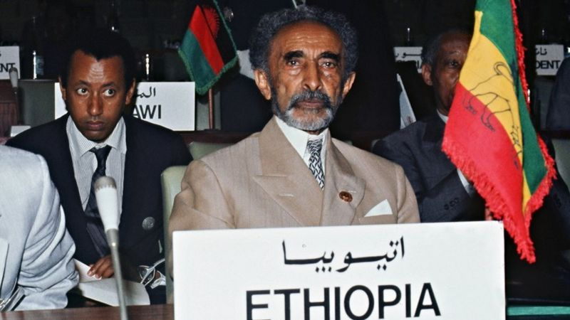 Selassie abandonou a Etiópia após a invasão de Mussolini e passou quase seis anos exilado - Foto: AFP