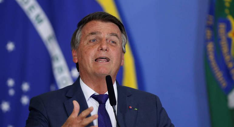 Presidente Jair Bolsonaro/Foto:R7