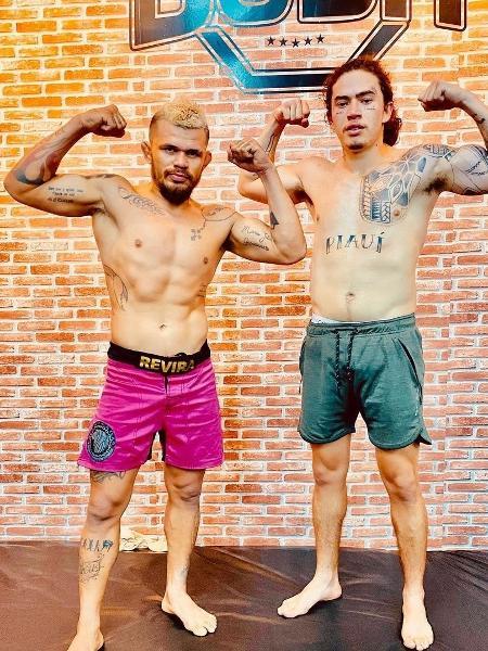Whinderson Nunes e Luis Felipe Buda (Foto: reprodução)