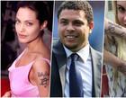10 famosos que foram infelizes e se arrependeram de suas tatuagens