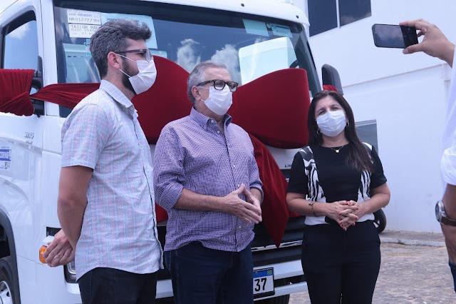 Luís Correia recebe caminhão compactador para a coleta de lixo - Imagem 3
