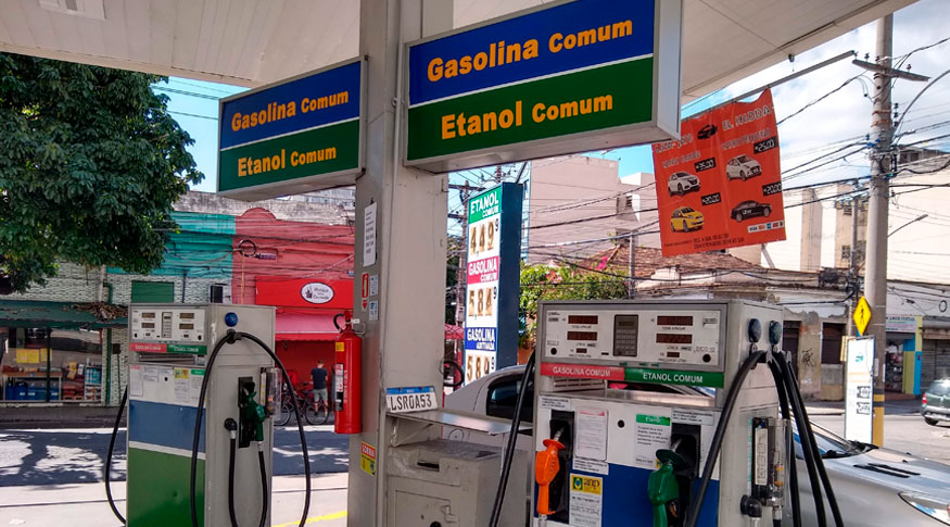 A gasolina tem crescimento acumulado de 31% no ano (Foto: Helena Pontes/IBGE)