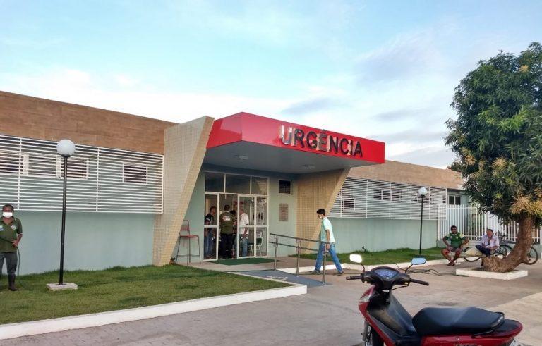 Paciente está internado no Hospital Regional Justino Luz, em Picos - Foto: Reprodução