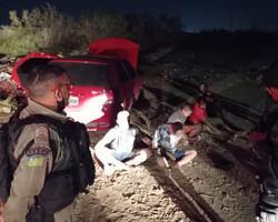 Seis homens são presos após perseguição e tiroteios em Teresina