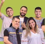 Alegriff, João Ferraz, Yasmin, Fran Oliveira e Francilio Rodrigues