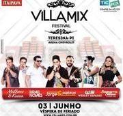 Meio Norte: O maior festival de música está de volta a Teresina, Villa Mix Festival