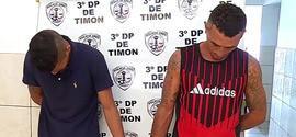 Dupla é presa acusada de homicídios na cidade de Timon-MA