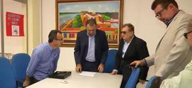 Reunião de transição acontece entre Mão Santa e Florentino Neto em Parnaíba